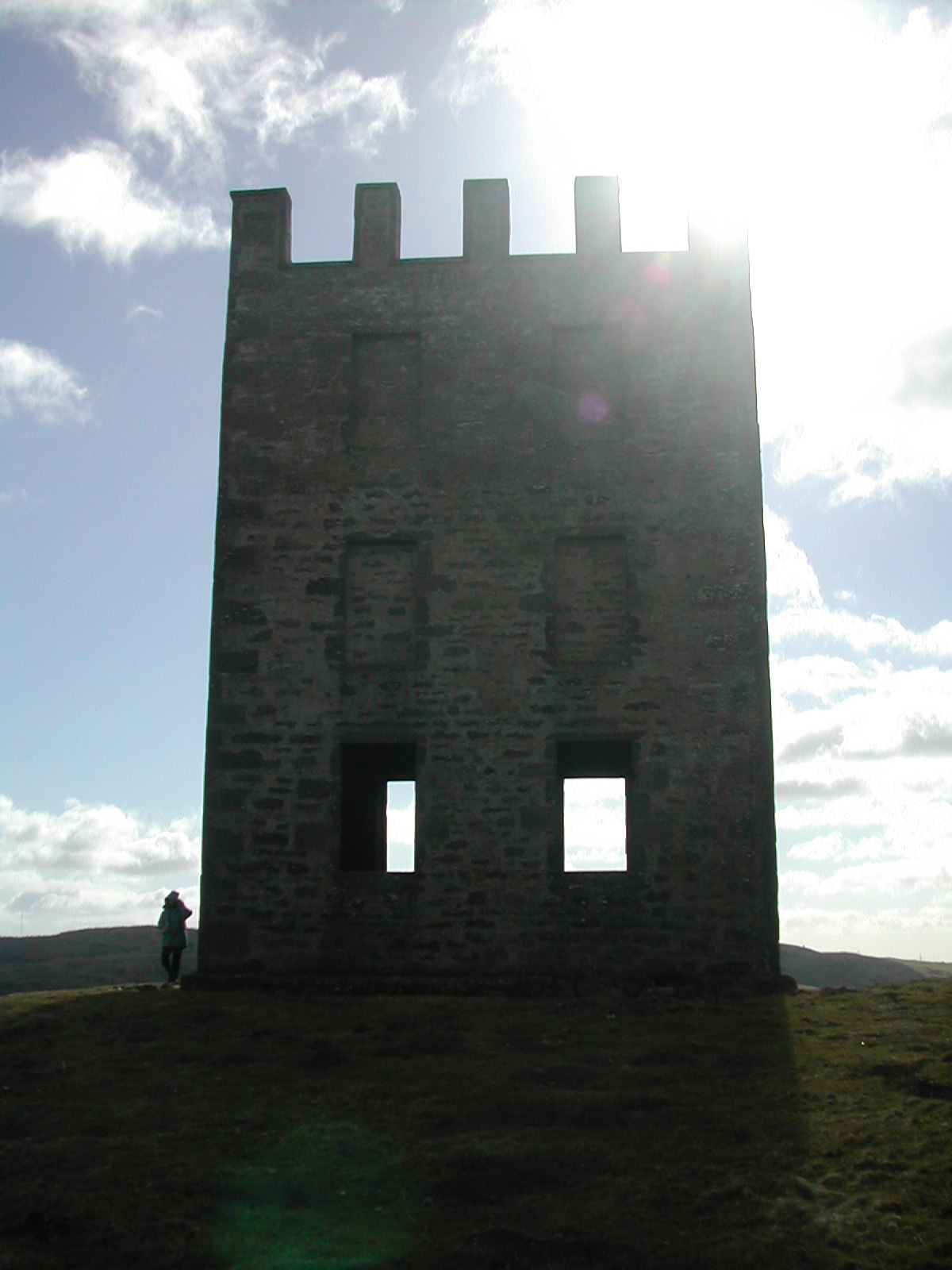 Kinpurnie tower